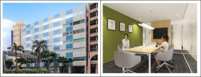 TKP、沖縄・那覇のレンタルオフィス「リージャスCOI那覇ビルビジネスセンター」2020年8月にリニューアルオープン