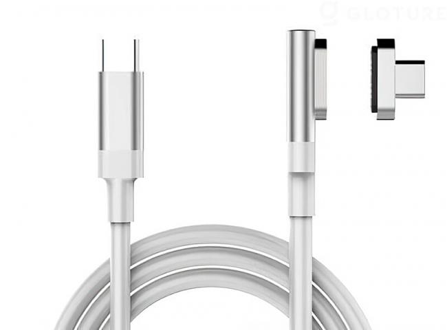 【入荷しました!】断線・本体の落下予防に!HBLINK Magnet USB-C ケーブル【長さ100cm/10Gbps 高速通信/100W 高速充電/4K映像出力】