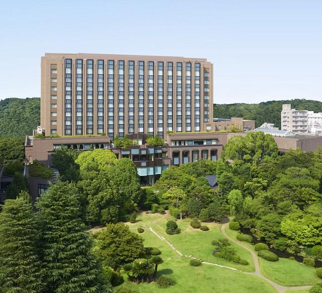 豊かな緑に囲まれたリーガロイヤルホテル東京