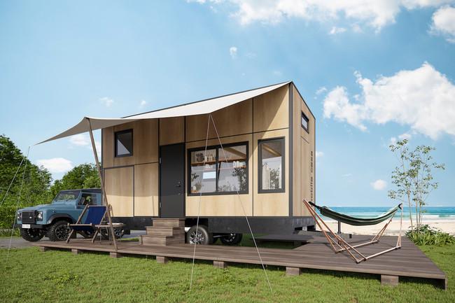 【車道を走る家?!】最新トレーラーハウス『mobile casa』誕生!移動可能な「casaの家」が提案する、令和時代のライフスタイル