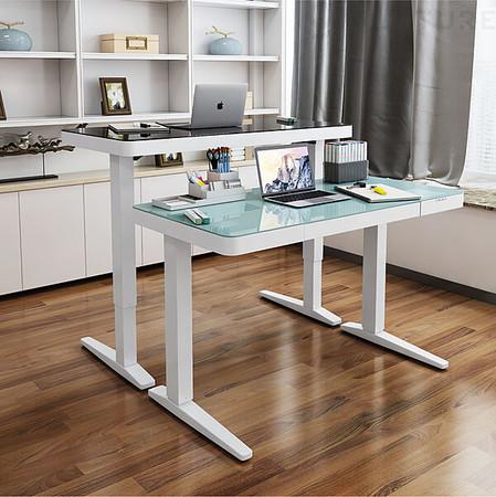 【クラウドファンディング開始!】「Hollin Smart Desk」高さ登録可能で好みの位置にカスタマイズ!テレワークに最適な高性能 電動昇降デスク【ワイヤレス充電/タッチパネル】
