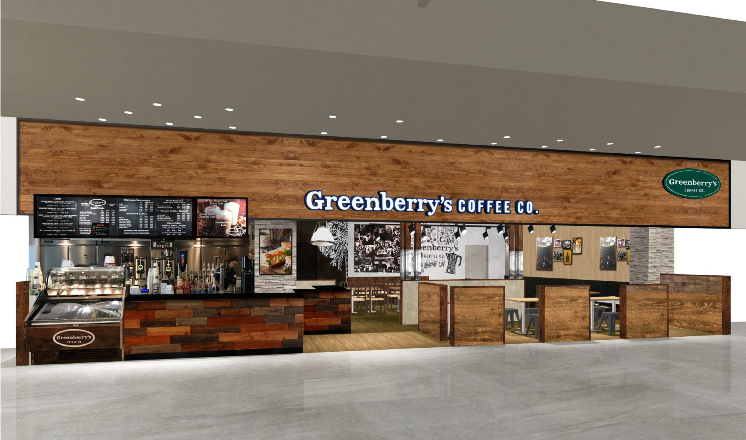 11月20日「グリーンベリーズコーヒー アリオ鳳店」オープン