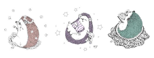 ハリネズミイラストで人気のイラストレーター・いわさきゆうし氏の特別描き下ろし!