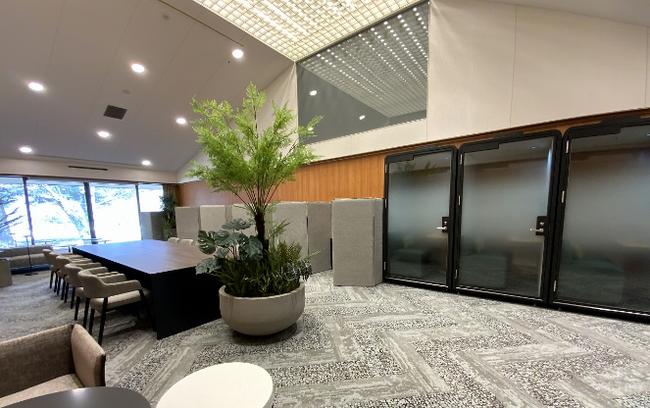 軽井沢プリンスホテル コワーキングルームby H¹T 1 名用個室